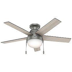 Anslee Flushmount Ceiling Fan