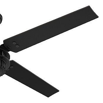 Matte Black with Matte Black blades / Detail view