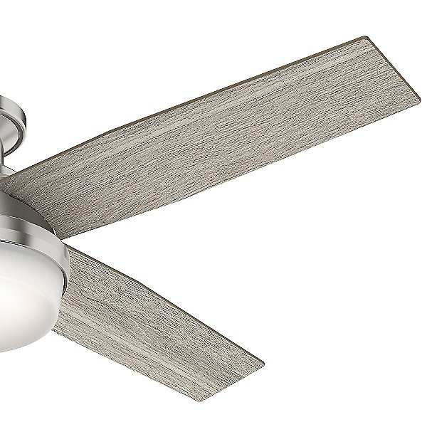 Dempsey Low Profile Ceiling Fan with Light