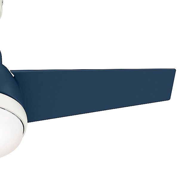 Valda Low Profile LED Ceiling Fan with Light