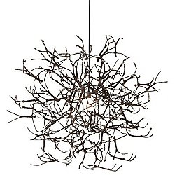 Little People Large Round Chandelier(Black/Silver)-OPEN BOX