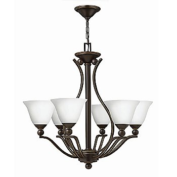 Shown in Olde Bronze with Opal Glass finish