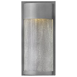 Shelter Half-Round LED Outdoor Wall Sconce