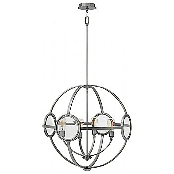 Shown in Polished Antique Nickel finish, 26 inch