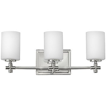 Shown in Polished Nickel finish, 3 Light