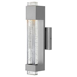 Glacier Outdoor Wall Light
