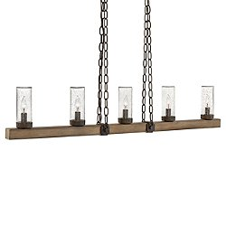 Sawyer Outdoor Linear Chandelier