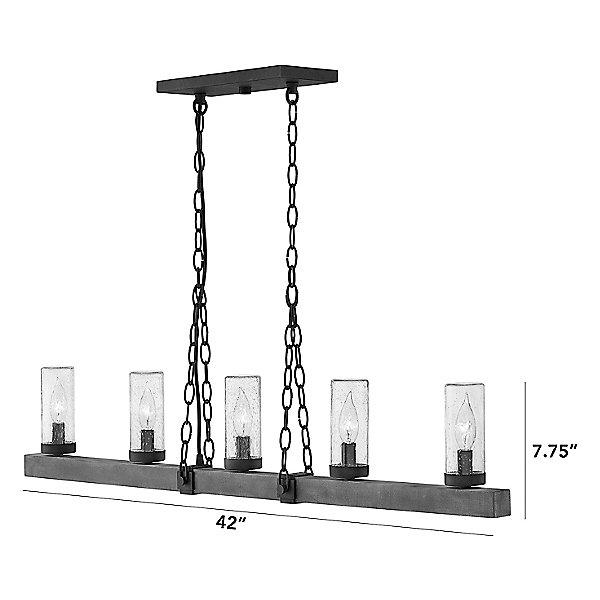 Sawyer Outdoor Linear Suspension Light