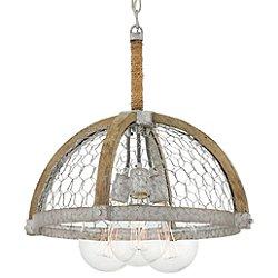 Heywood Half-Globe Pendant Light