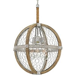 Heywood Globe Pendant Light