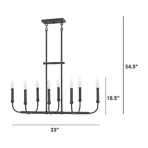 Alister Linear Suspension Light