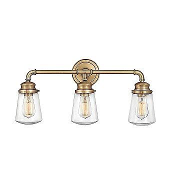 Shown in Heritage Brass finish, 3 Light