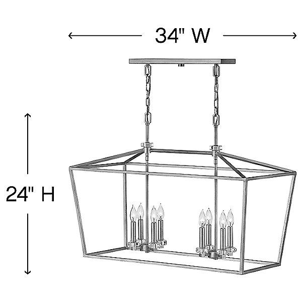 Stinson Linear Suspension Light