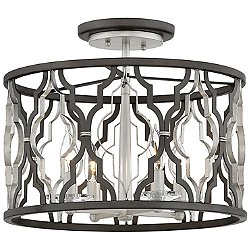 Portico Semi-Flush Mount Ceiling Light