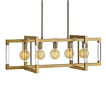 Lacquered Brass finish