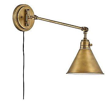 Heritage Brass finish