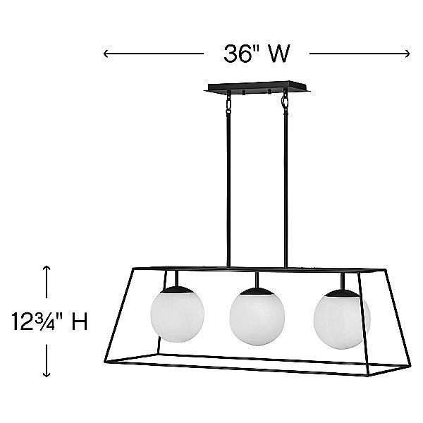 Jonas Linear Suspension Light