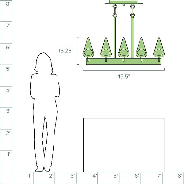 Ren Linear Suspension Light