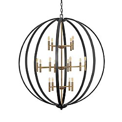 Euclid 3-Tier Large Chandelier