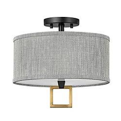 Link Semi-Flush Mount Ceiling Light
