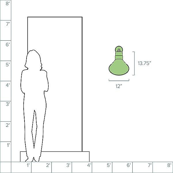 Angle 44 Arm Outdoor Wall Light