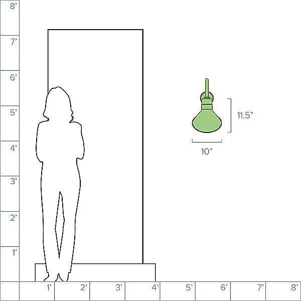Angle A Arm Outdoor Wall Light