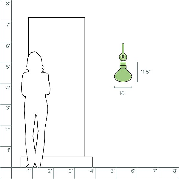 Angle A Swivel Arm Outdoor Wall Light