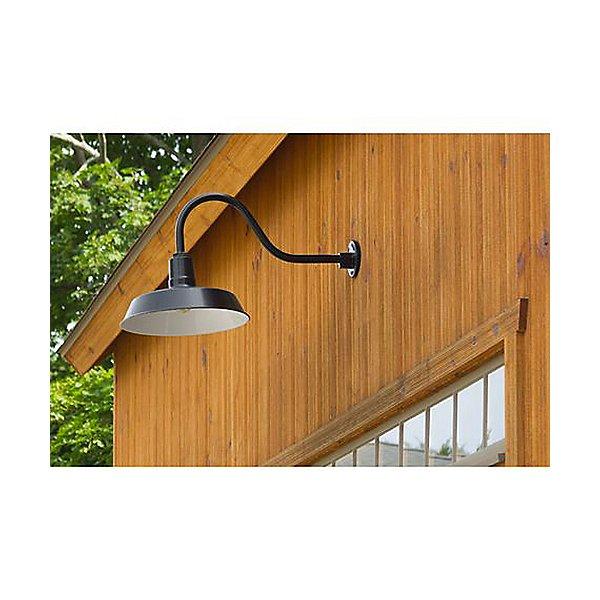Gooseneck Barn Light Warehouse Outdoor Wall Sconce - HL-A Arm