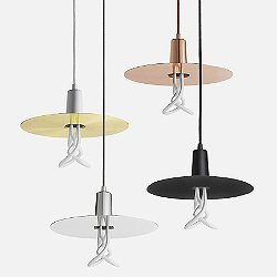 Drop Hat Pendant Light
