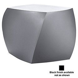The Frank Gehry Furniture Collection Right Twist Cube (Black) - OPEN BOX RETURN