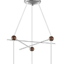 Nelson Triple Bubble Lamp Fixture