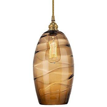 Optic Bronze shade / Gilded Brass finish