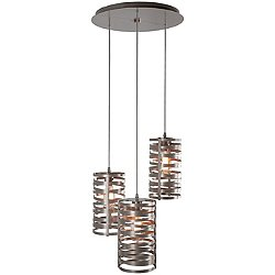 Tempest Round Multi-Light Pendant Light