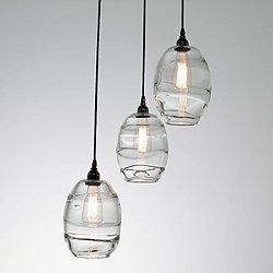 Ellisse Round Multi-Light Pendant Light