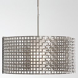 Tweed Drum Pendant Light