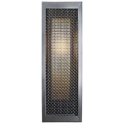 Mesh Outdoor Double Box Wall Light