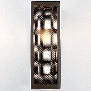Statuary Bronze / Medium Mesh Matching Finish / 18 inch