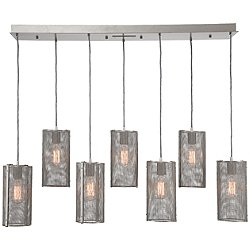 Uptown Mesh Waterfall Linear Suspension Light