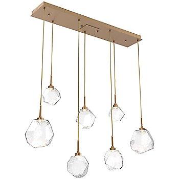 Metallic Beige Silver finish / Clear