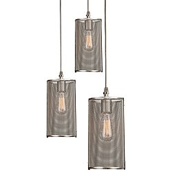 Uptown Mesh Multi-Light Pendant Light