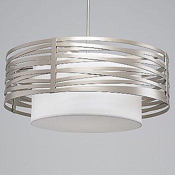Metallic Beige Silver finish, 36 inch