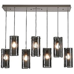 Granite Staggered Linear Suspension Light