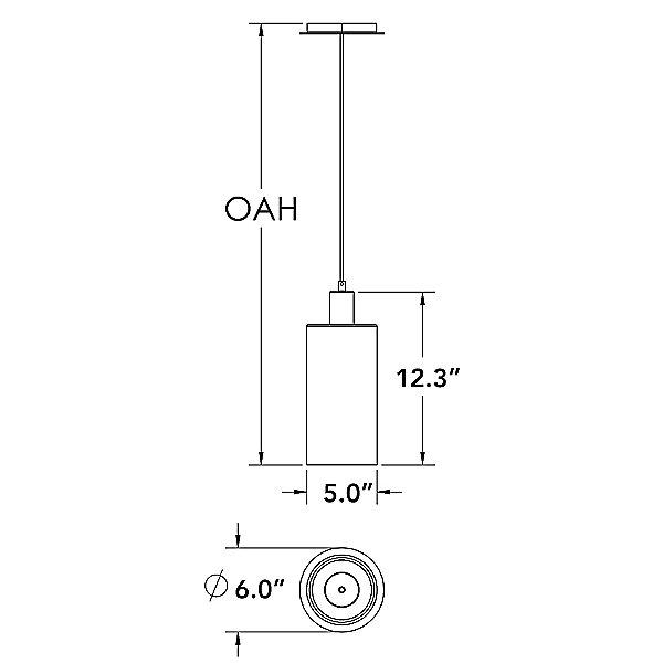 Apothecary 10-Inch Mini Pendant Light