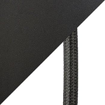 Matte Black finish / cord detail