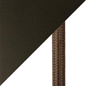 Flat Bronze finish / cord detail