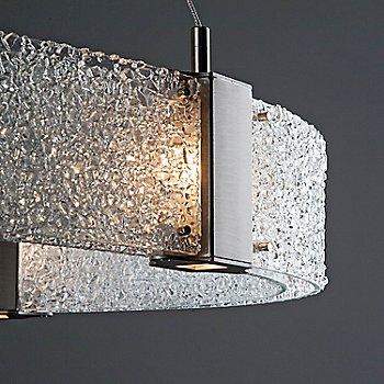 Clear Rimelight / Satin Nickel finish