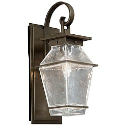 Landmark Outdoor Wall Light with Scroll