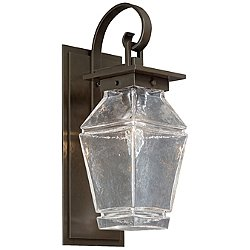 Signal Outdoor Wall Light with Scroll