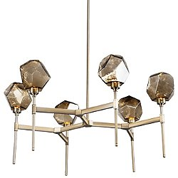 Gem Round LED Belvedere Chandelier