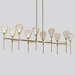 Hedra Belvedere LED Linear Suspension